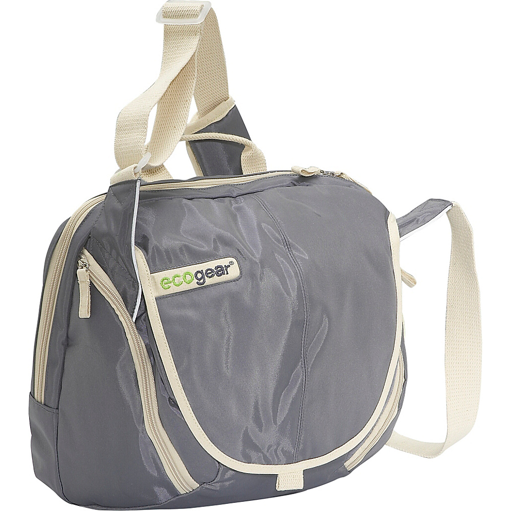ecogear Fjord Messenger Bag - Grey - Work Bags & Briefcases, Messenger Bags