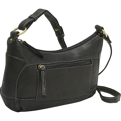 Derek Alexander Compact Top Zip Handbag - Black
