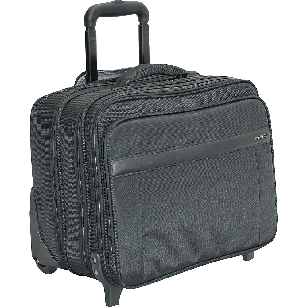 Netpack N-5 Wheeled Laptop Case - Black - Work Bags & Briefcases, Wheeled Business Cases