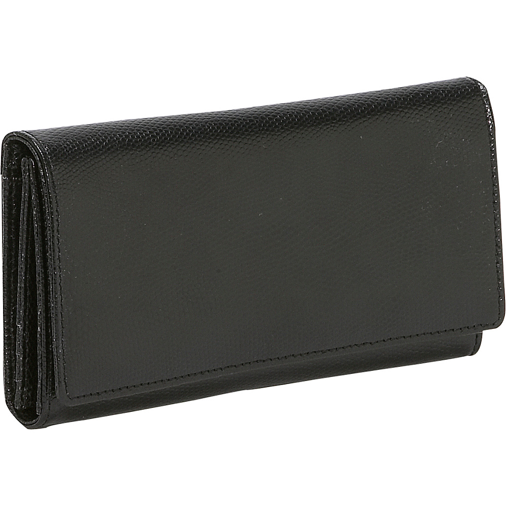 Budd Leather Lizard Calf Continental Clutch Wallet - Women's SLG, Women's Wallets