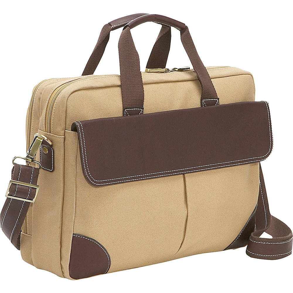Bellino Computer Brief - Sand - Work Bags & Briefcases, Non-Wheeled Business Cases