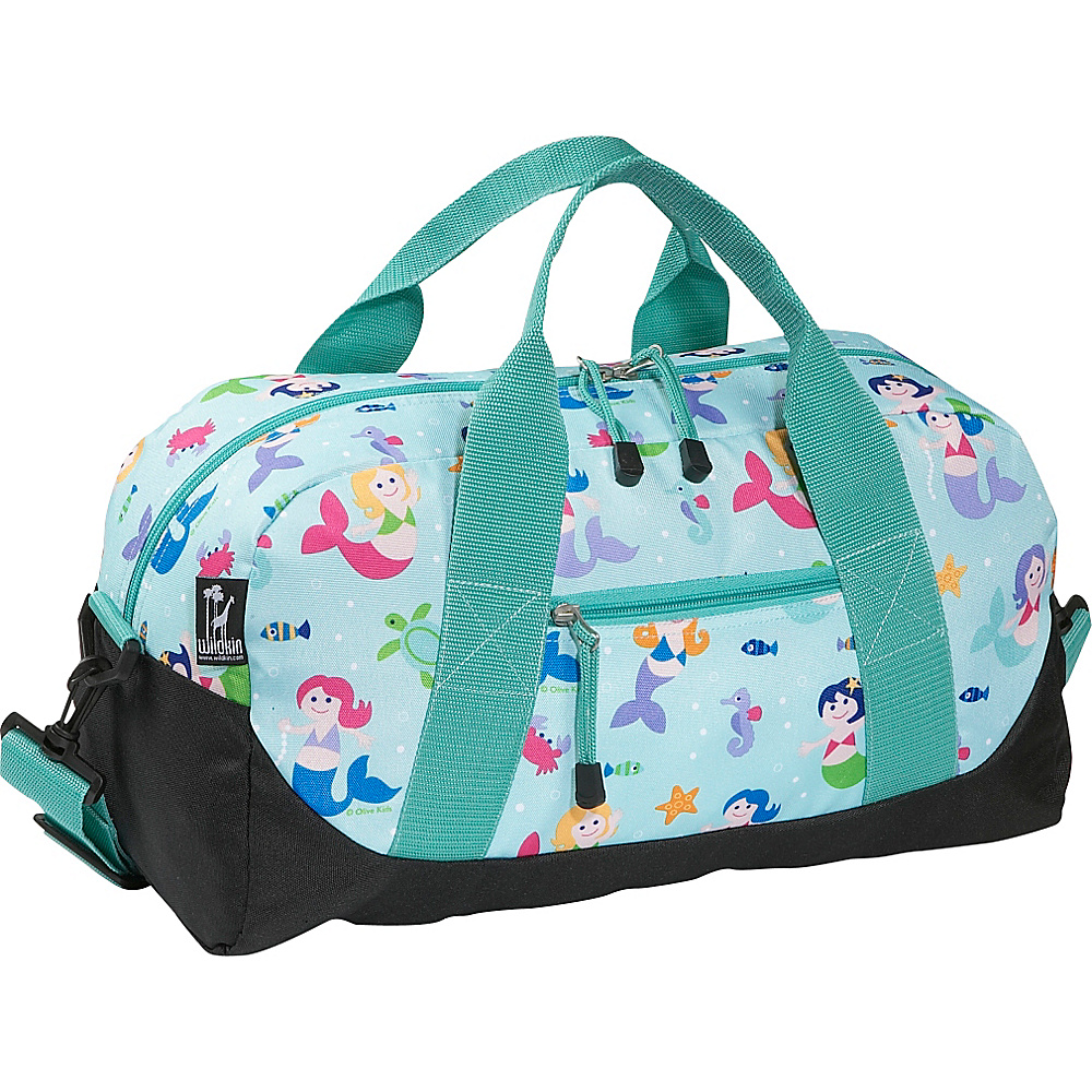 Wildkin Mermaids Duffel Bag - Olive Kids Mermaids