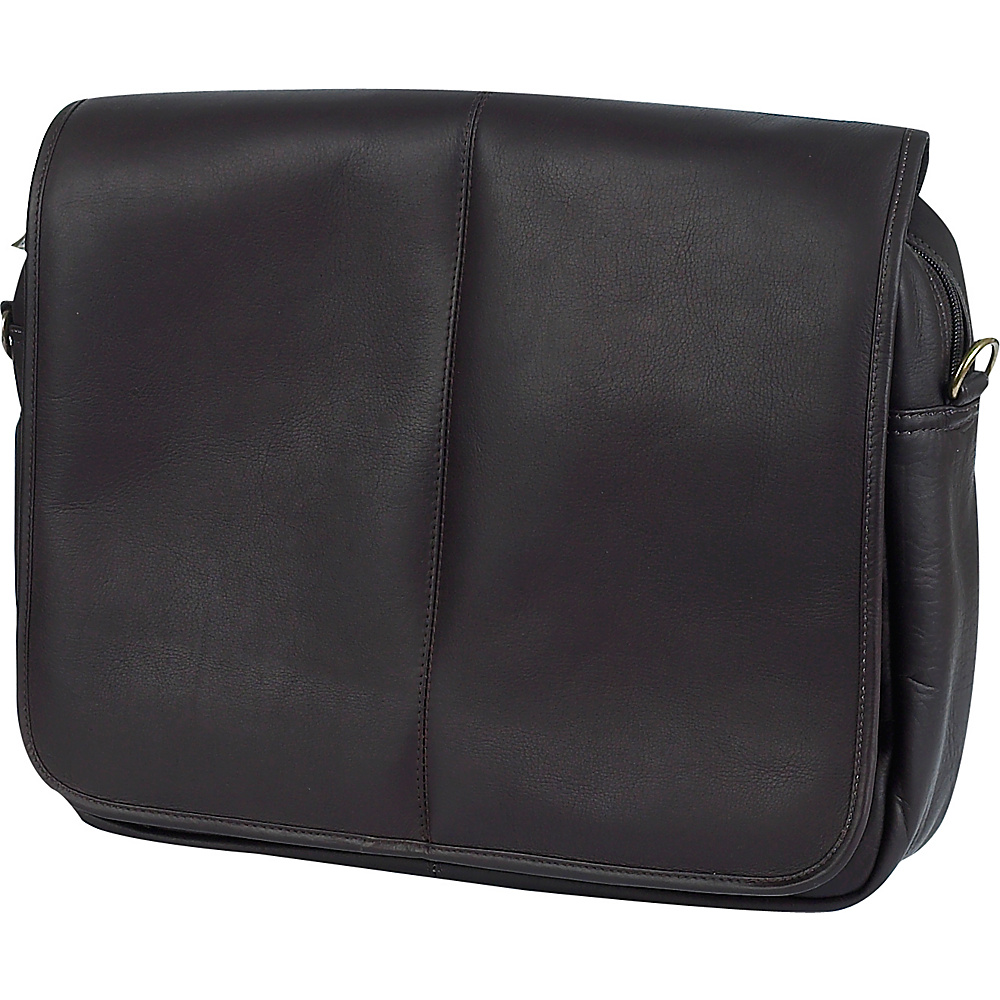 ClaireChase Luxury Messenger Brief - Cafe - Work Bags & Briefcases, Messenger Bags