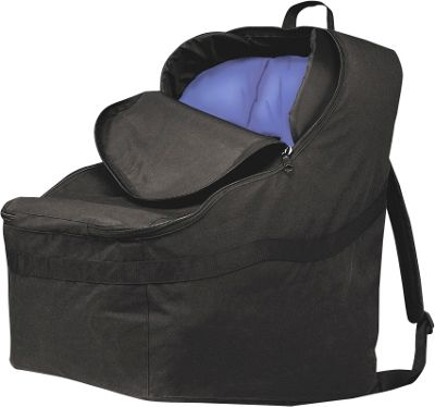 J.L. Childress Ultimate Car Seat Travel Bag - Black
