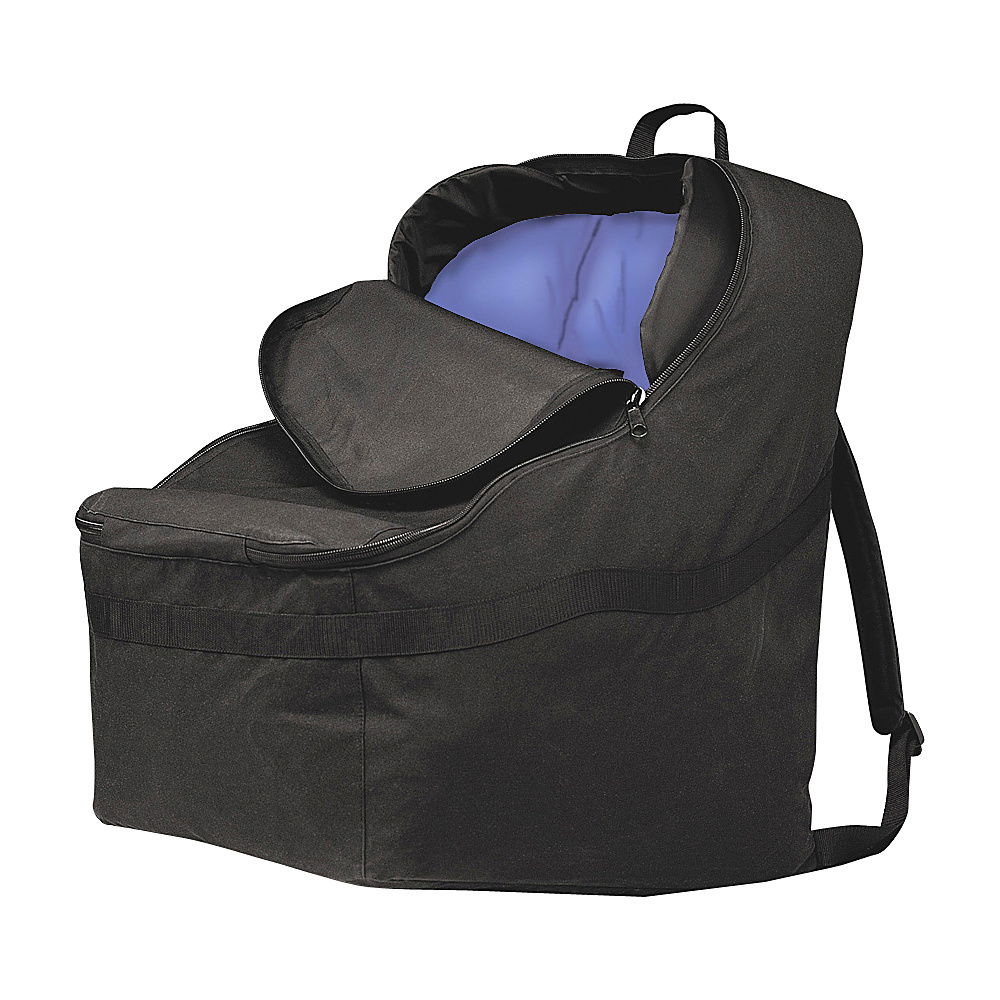 J.L. Childress Ultimate Car Seat Travel Bag Black