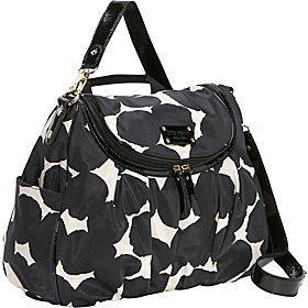 Splodge Dot Randi Baby Bag Black/Cream