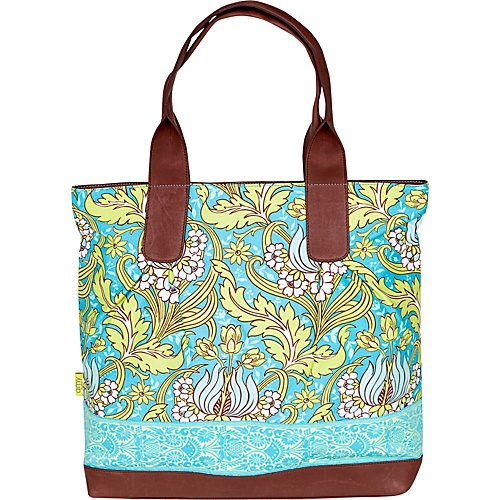 Amy Butler for Kalencom Cara Tote - Temple Tulips