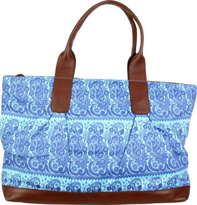 Image of Amy Butler for Kalencom Abina Tote Rhapsody/Ocean - Amy Butler for Kalencom Fabric Handbags
