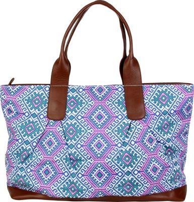Amy Butler for Kalencom Abina Tote Camel Blanket/Cloud - Amy Butler for Kalencom Fabric Handbags