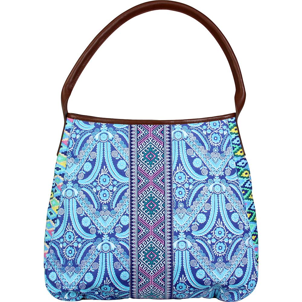 Amy Butler for Kalencom Muriel Fashion Bag Filagree Marine - Amy Butler for Kalencom Fabric Handbags