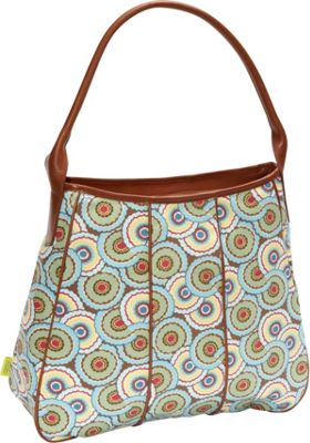 Amy Butler for Kalencom Muriel Fashion Bag Dancing Umbrellas - Amy Butler for Kalencom Fabric Handbags