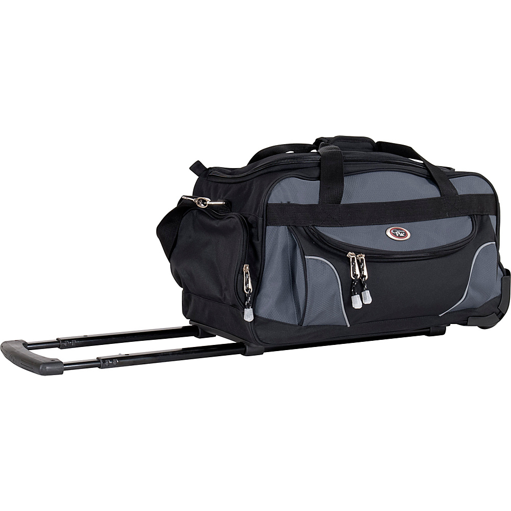 CalPak Champ 21 Rolling Duffel - Black - Luggage, Softside Carry-On