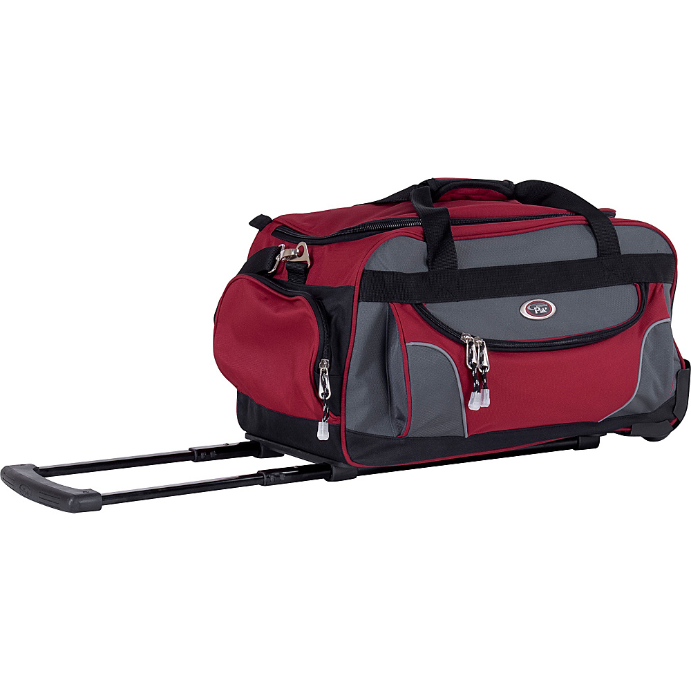 CalPak Champ 21 Rolling Duffel Deep Red