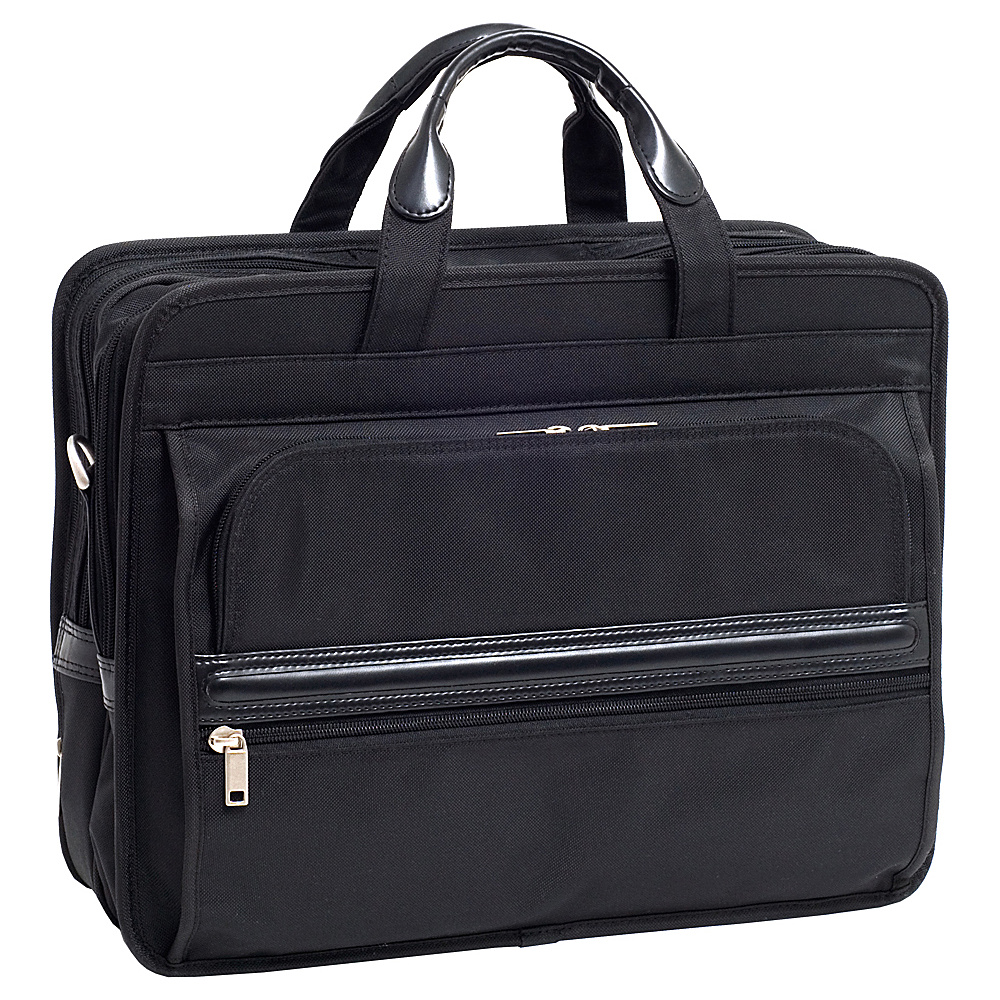 McKlein USA P Series Elston Nylon Double Compartment