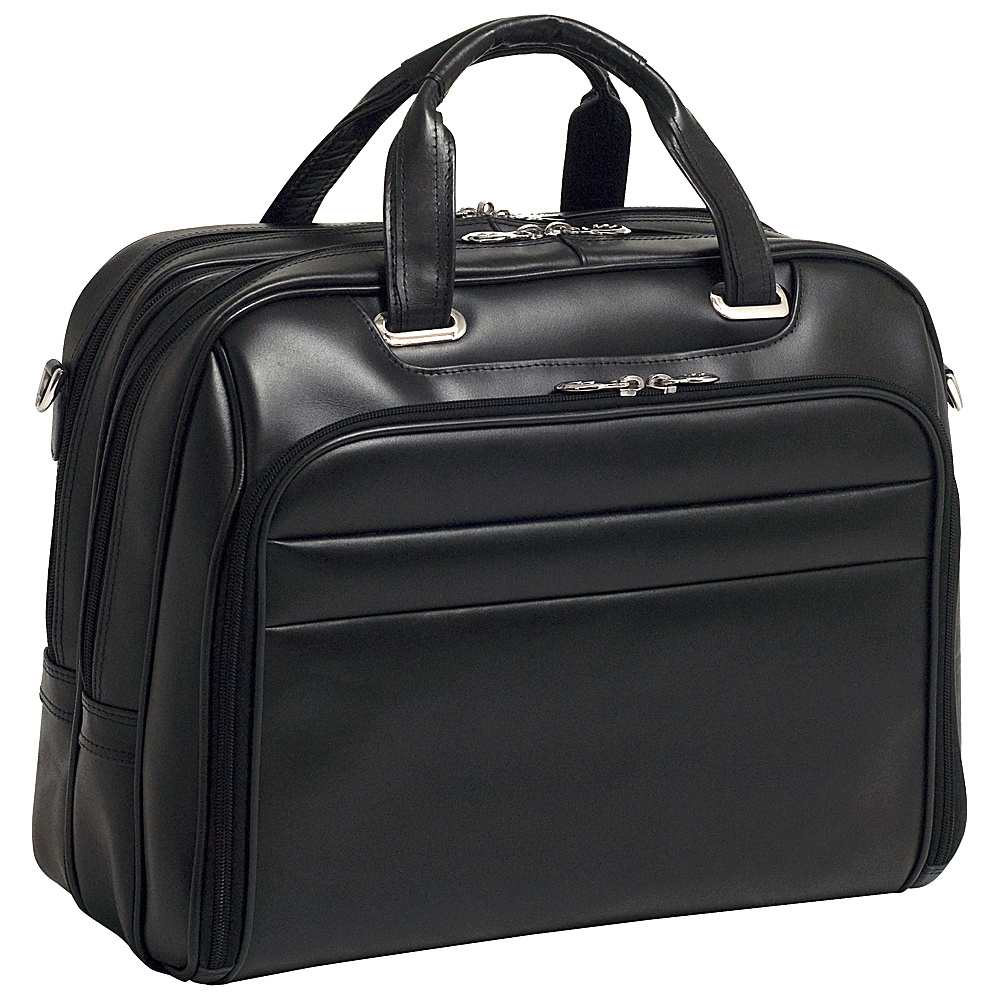 McKlein USA R Series Springfield Leather Laptop Case - - Work Bags & Briefcases, Non-Wheeled Business Cases