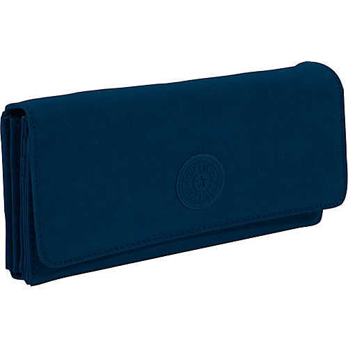 Kipling Brownie Organizer Wallet - Large - True Blue