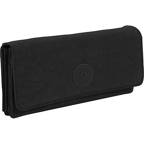 Kipling Brownie Organizer Wallet - Large - Black