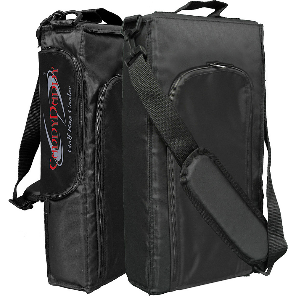 Caddy Daddy Golf 9 Pack Golf Bag Cooler Black - Caddy Daddy Golf Sports Accessories