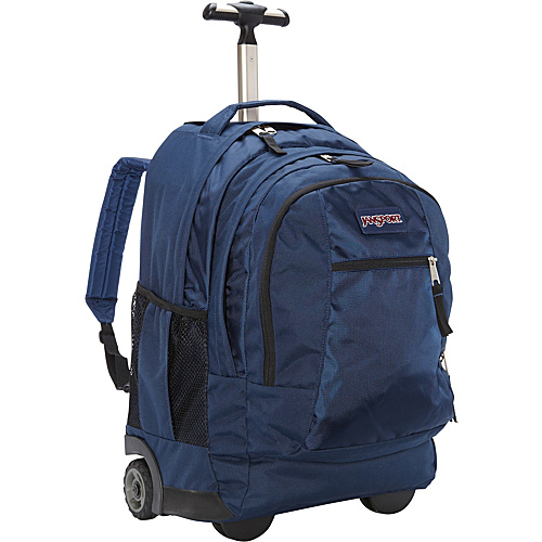 JanSport Driver 8 Rolling Backpack Navy - Backpacks, Wheeled Backpacks
