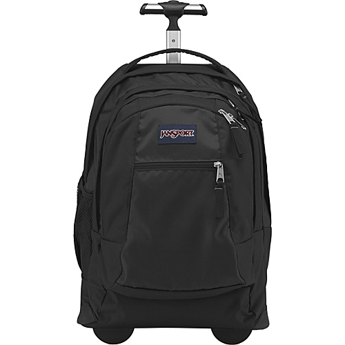 JanSport Driver 8 Rolling Backpack Black - Backpacks, Wheeled Backpacks