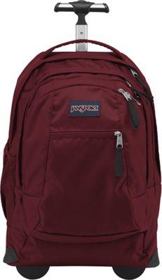 JanSport Driver 8 Rolling Backpack Viking Red - JanSport Rolling Backpacks