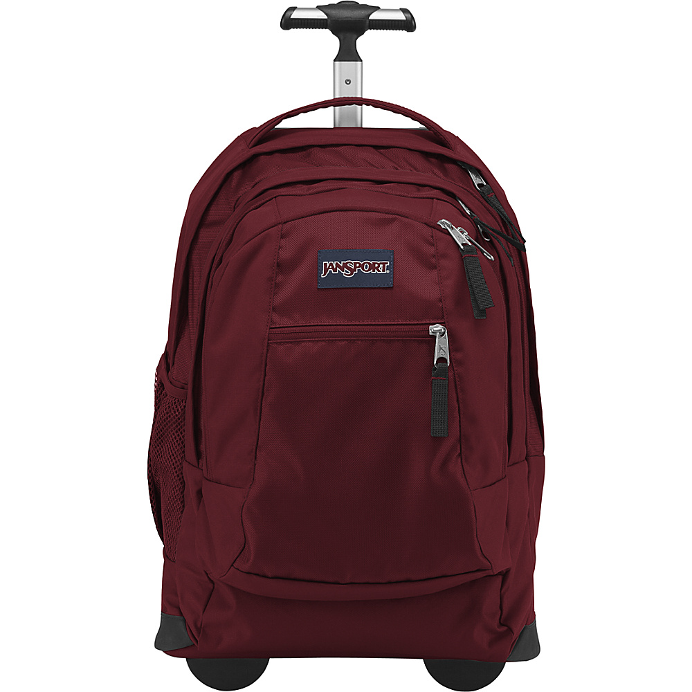 JanSport Driver 8 Rolling Backpack Viking Red - JanSport Rolling Backpacks