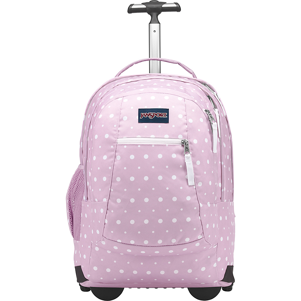 JanSport Driver 8 Rolling Backpack Spring Meadow - JanSport Rolling Backpacks