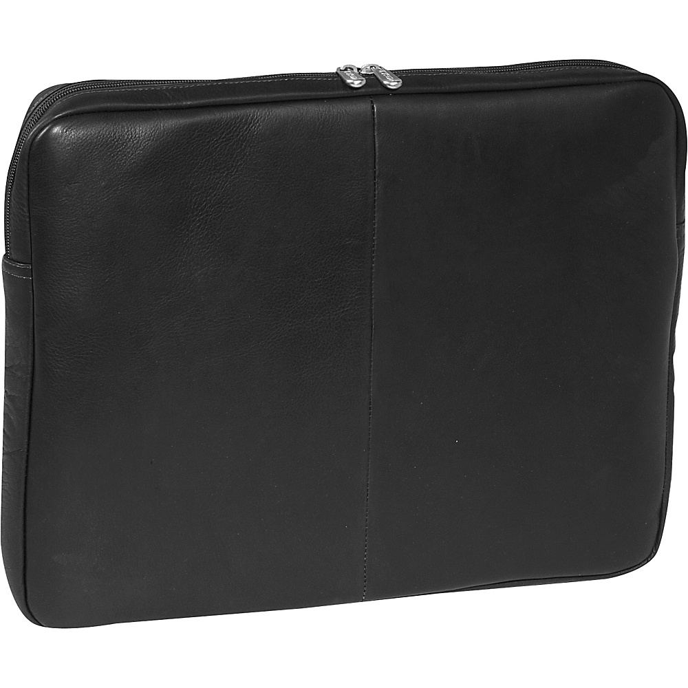 Piel 17 Zip Laptop Sleeve Black - Piel Electronic Cases - Technology, Electronic Cases