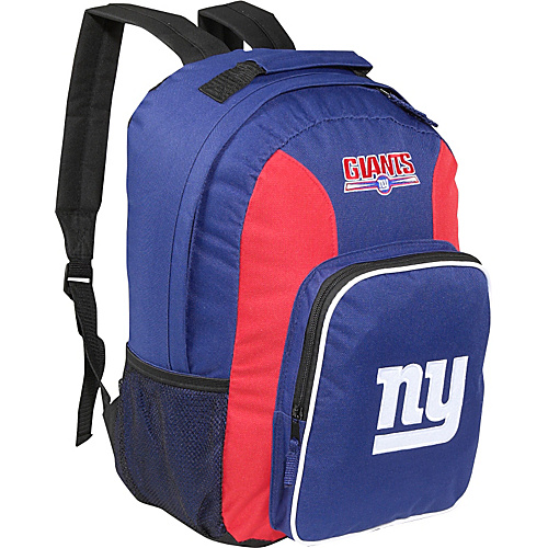 Concept One New York Giants Backpack New York Giants Navy - Concept One School & Day Hiking Backpacks