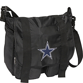 Dallas Cowboys Sitter Diaper Bag Black