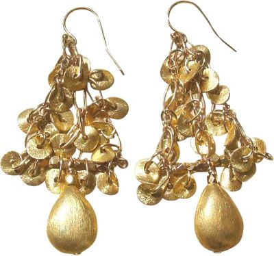 MINU Jewels Gold Disc Earrings