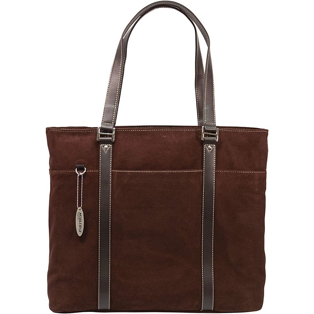 Mobile Edge Suede Computer Tote 15.4PC 17 MacBook