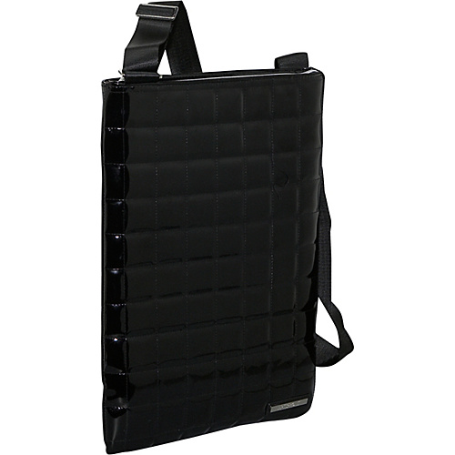 Earth Axxessories Quilted RPET Laptop Bag - Black