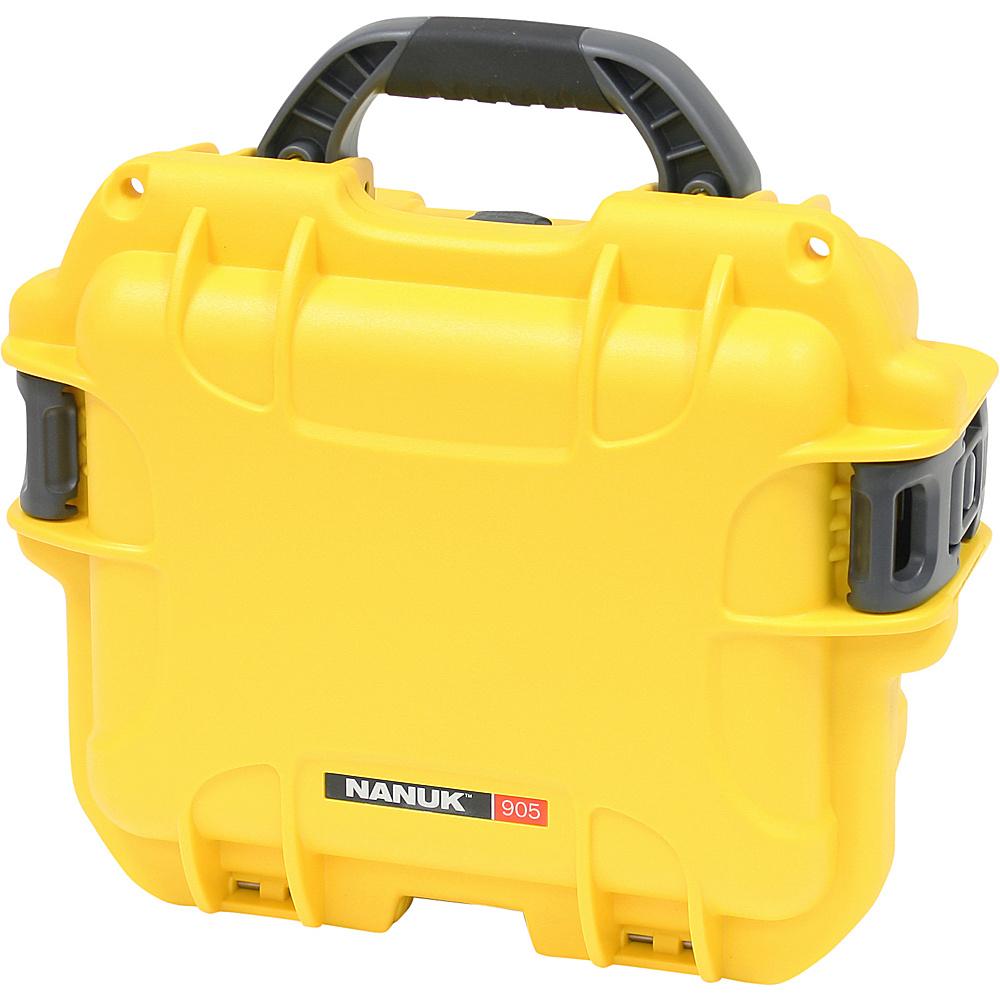 NANUK 905 Case w/foam - Yellow - Technology, Camera Accessories