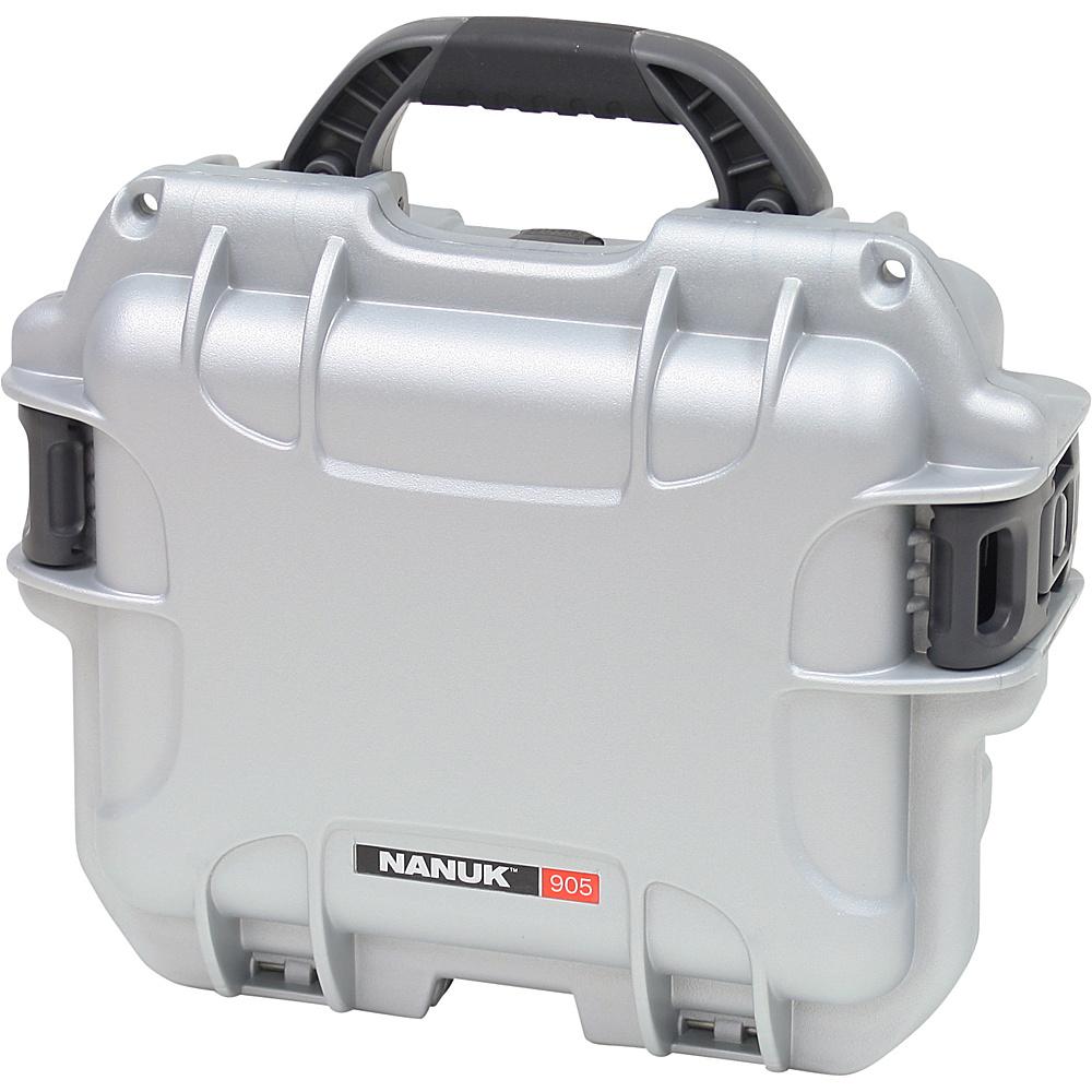 NANUK 905 Case w foam Silver