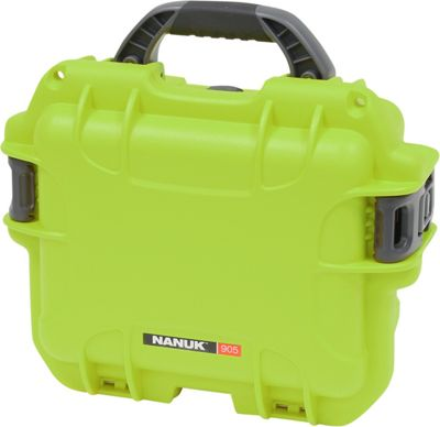 NANUK 905 Water Tight Protective Case w/Foam Lime - NANUK Camera Accessories