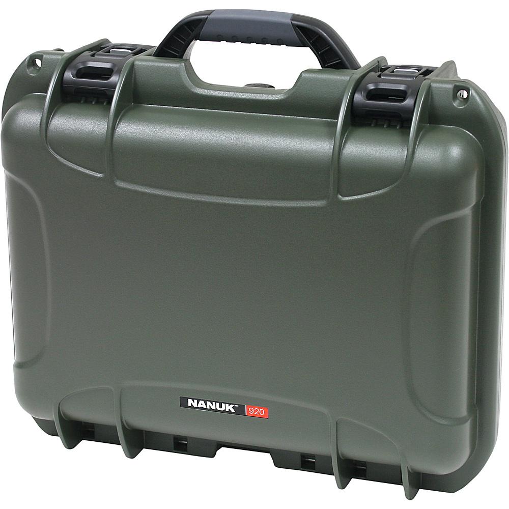 NANUK 920 Case w/foam - Olive - Technology, Camera Accessories
