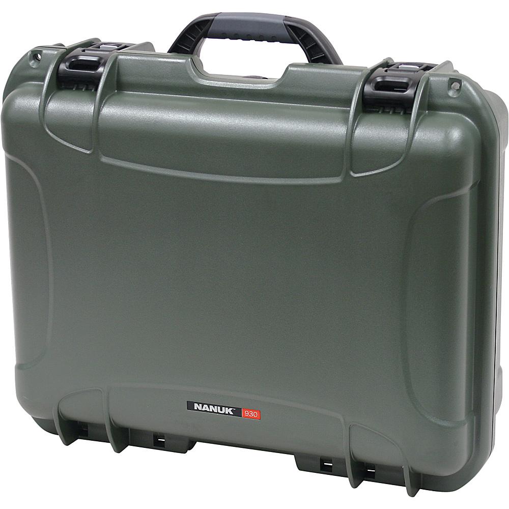 NANUK 930 Case w/foam - Olive - Technology, Camera Accessories