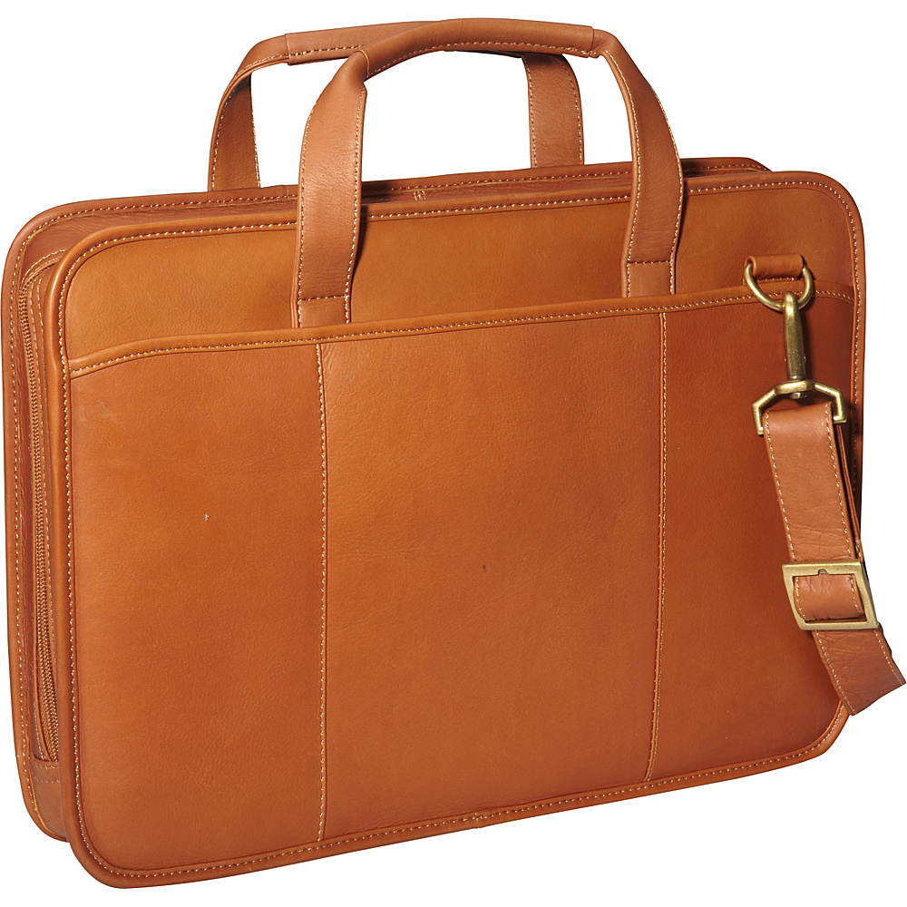 ClaireChase Small File Brief - Saddle - Work Bags & Briefcases, Non-Wheeled Business Cases