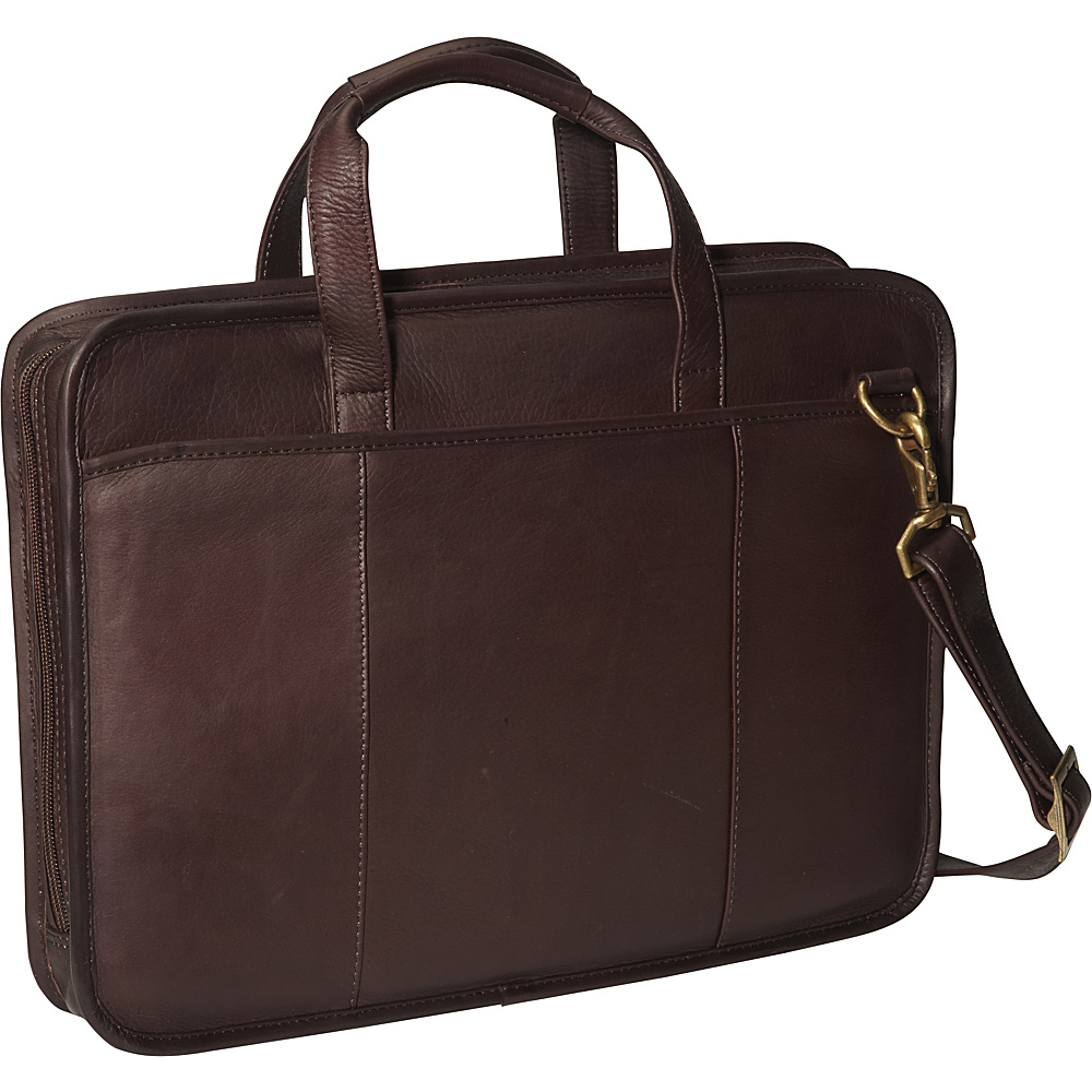 ClaireChase Small File Brief - Cafe - Work Bags & Briefcases, Non-Wheeled Business Cases