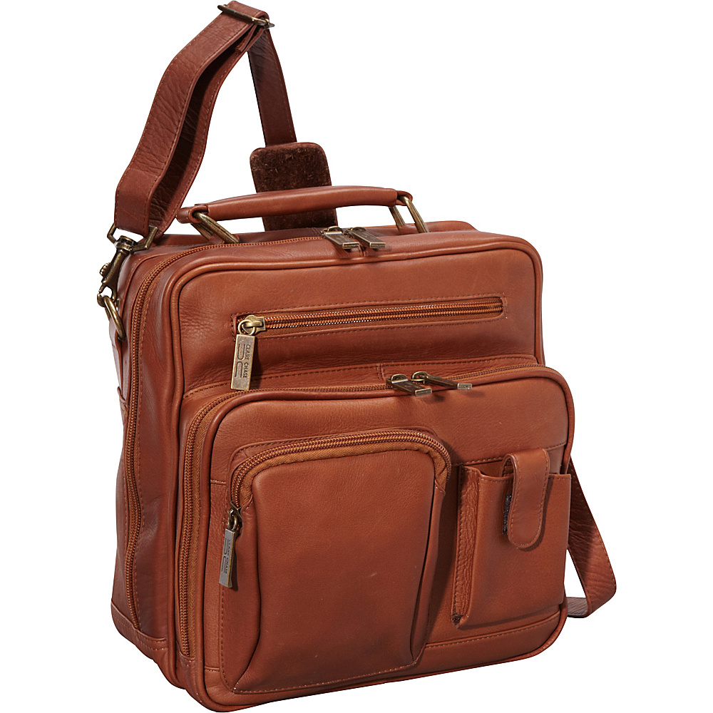 ClaireChase Jumbo Man Bag - Saddle - Work Bags & Briefcases, Other Men's Bags