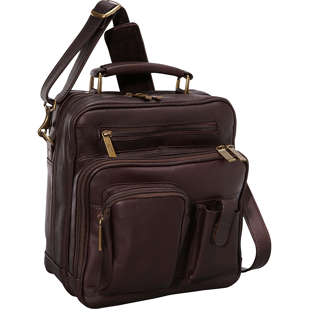 ClaireChase Jumbo Man Bag - Cafe - Work Bags & Briefcases, Other Men's Bags