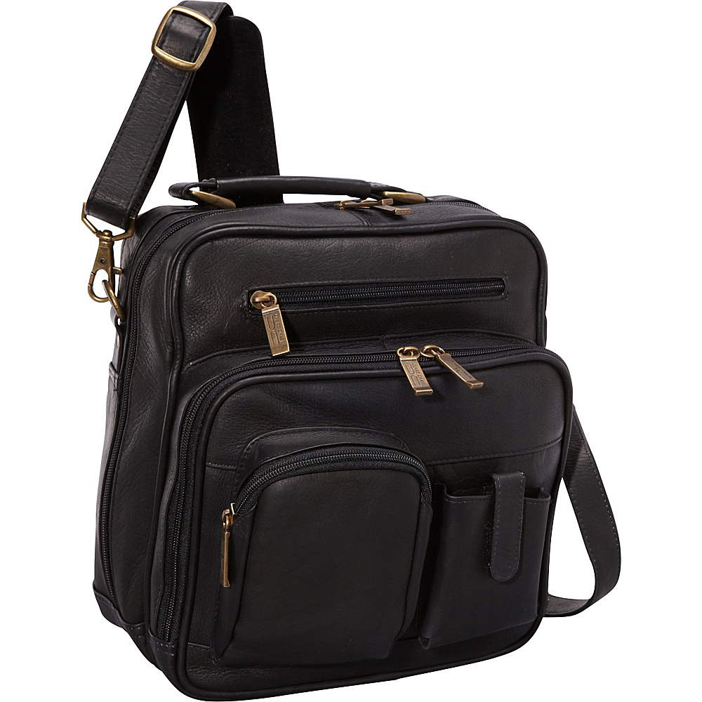 ClaireChase Jumbo Man Bag - Black - Work Bags & Briefcases, Other Men's Bags