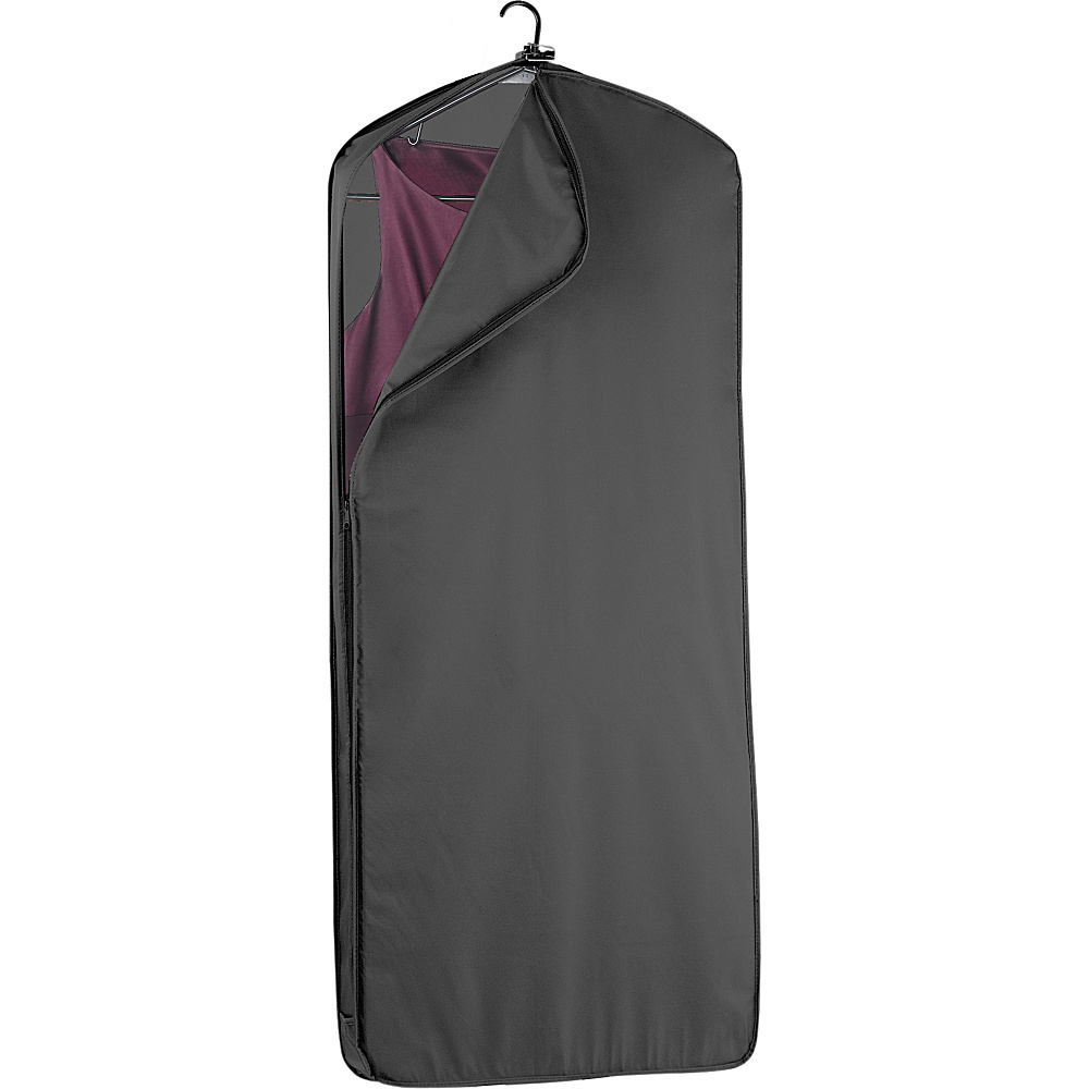 "Wally Bags 52"" Dress Length Garment Cover - Black"