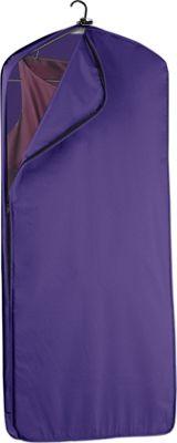 Wally Bags 52 inch Dress Length Garment Cover Purple - Wally Bags Garment Bags