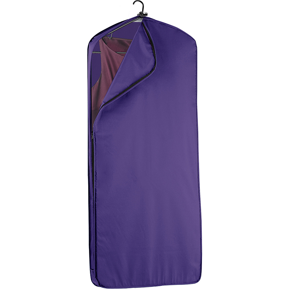 "Wally Bags 52"" Dress Length Garment Cover Purple - Wally Bags Garment Bags"