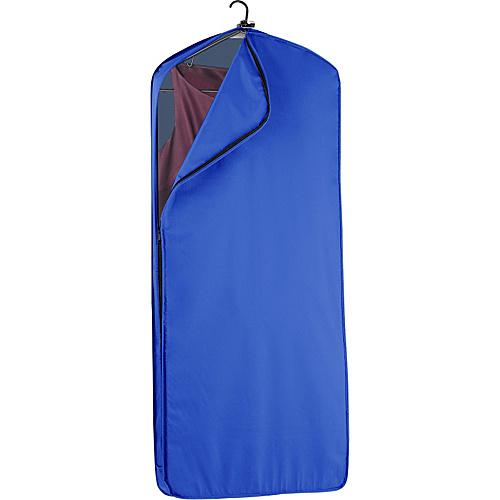 "Wally Bags 52"" Dress Length Garment Cover Royal - Wally Bags Garment Bags"
