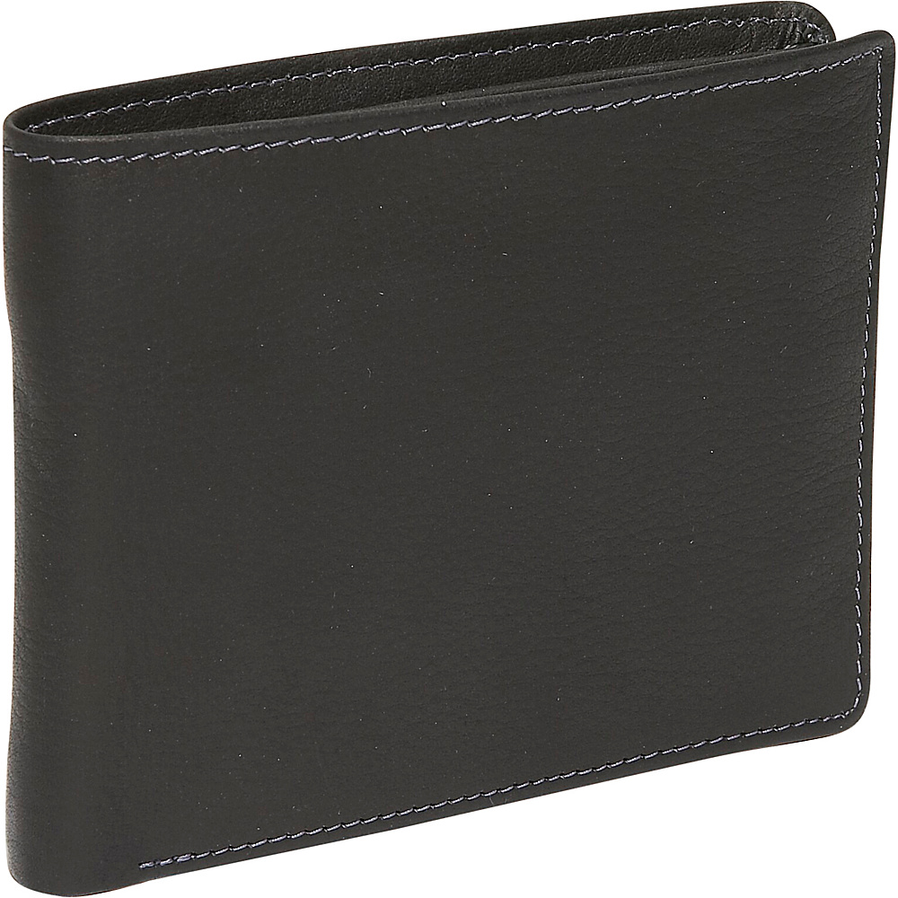 Derek Alexander Slim Billfold - Black - Work Bags & Briefcases, Men's Wallets