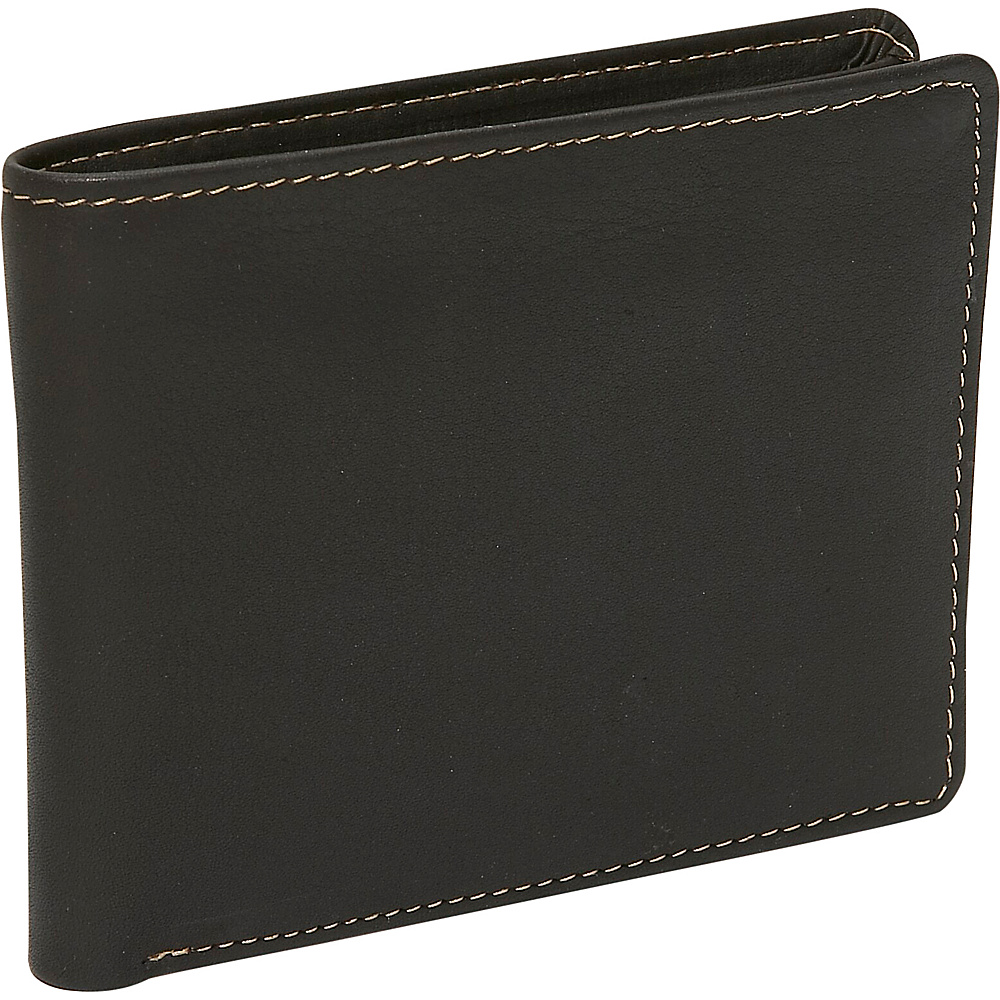 Derek Alexander Slim Billfold Brown - Derek Alexander Mens Wallets - Work Bags & Briefcases, Men's Wallets