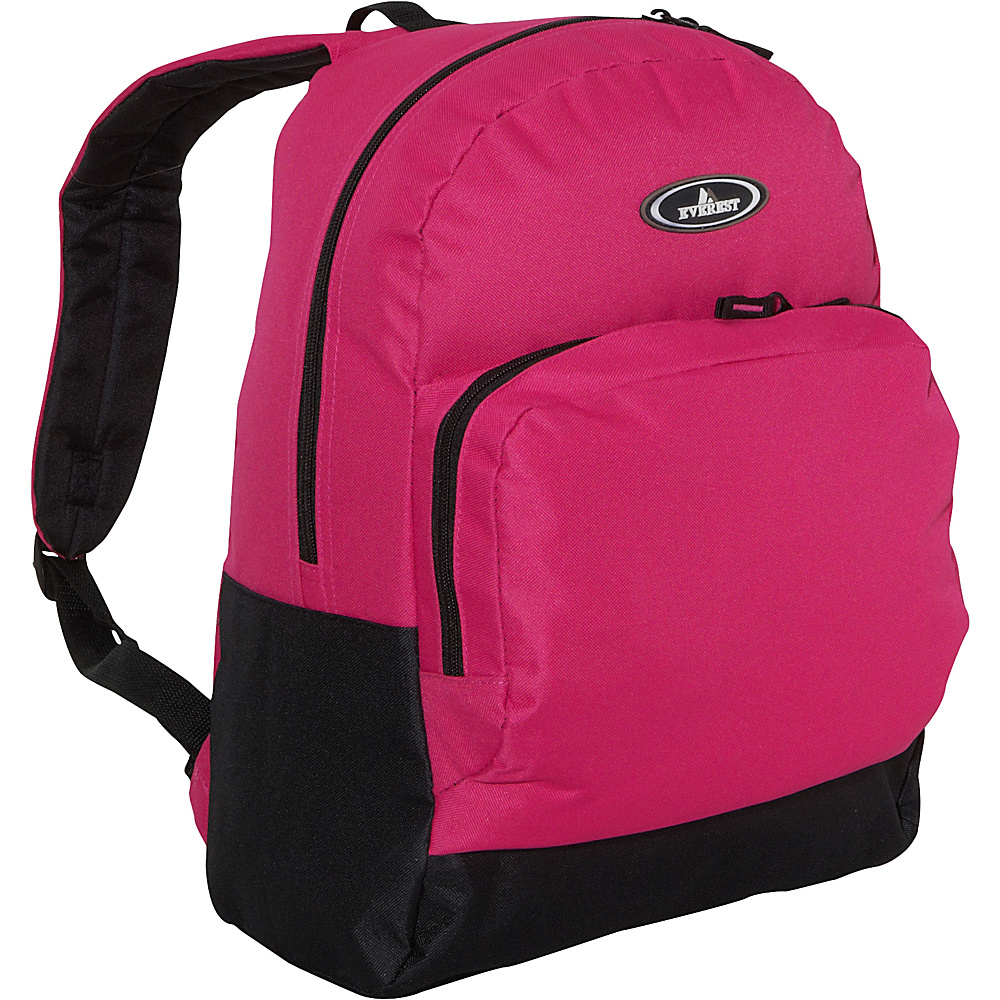 Everest Classic Backpack with Organizer - Hot Pink / - Backpacks, Everyday Backpacks